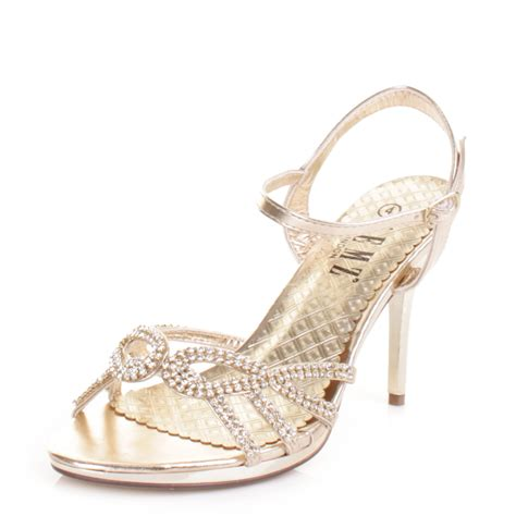 Heels Lj 05 Gold Best Buy Gold High Heels Wedding Gold Sandals Heels