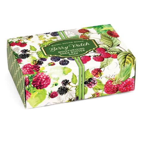amazon com michel design works peony blossom home fragrance room berry patch boxed single soap