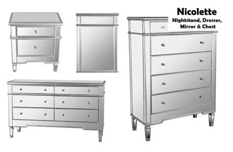 awesome uncategorized dresser and nightstand set mirrored