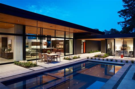 glass wall house glass wall house in san mateo e architect