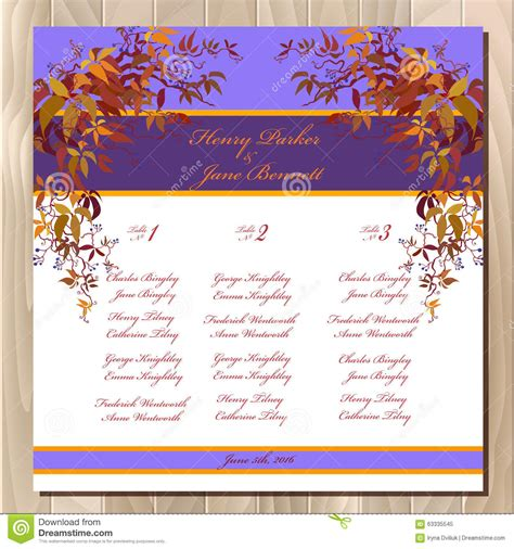 Wedding Background List by Table Guest List Autumn Grape Background Wedding