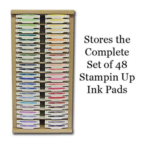 stin up storage rack craft racks stin up ink pad