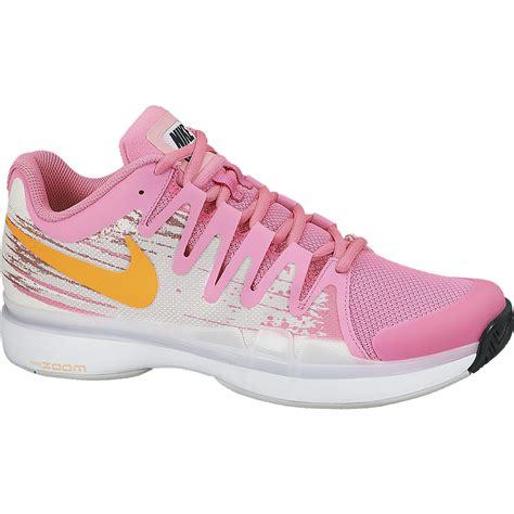 nike womens zoom vapor 9 5 tour tennis shoes pink glow