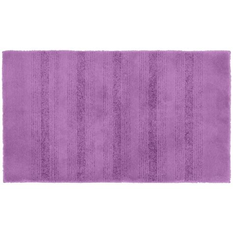 purple accent rugs garland rug essence purple 24 in x 40 in washable bathroom accent rug enc 2440 09 the home depot