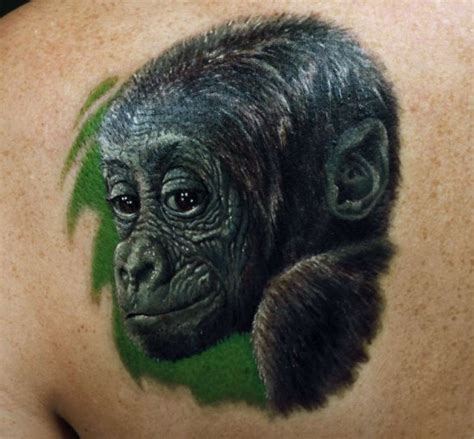silverback gorilla tattoo gorilla tattoos designs ideas and meaning tattoos for you