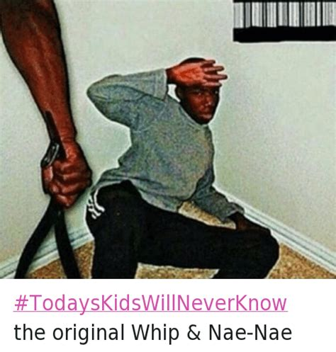 Nae Nae Meme - todayskidswillneverknow the original whip nae nae