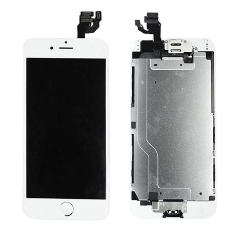 iphone  white replacement screen