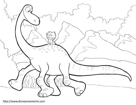 Dinosaur Coloring Page Pdf | coloring pages disney s the good dinosaur coloring pages