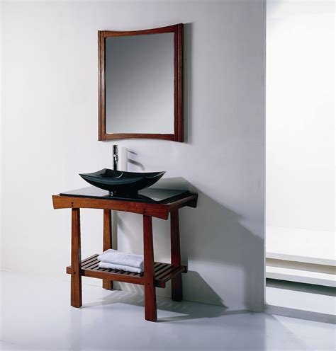 japan style bathroom vanity furniture 629