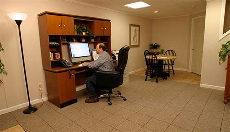 Home Office Ideas: Turning a Finished Basement into a Home Office
