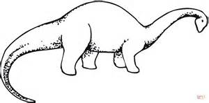 brachiosaurus 3 coloring page free printable coloring pages
