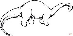 Brachiosaurus 3 Coloring Page Free Printable Coloring Pages Brachiosaurus Coloring Page