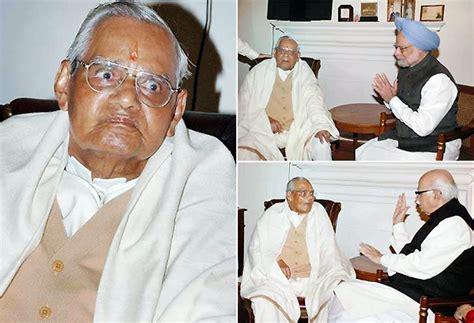 atal bihari vajpayee latest news videos photos times vajpayee turns 88 pm senior leaders greet him