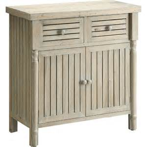 whitewashed coastal cabinet for the home