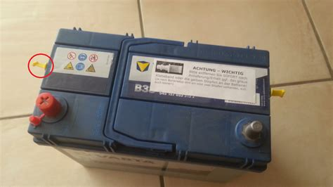 Welche Batterie Für Welches Auto by Austausch Der 12 Volt Batterie Priusforum