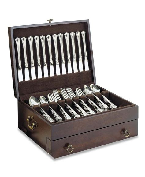 Flatware Chest With Drawer by 1000 Ideas About Silverware Storage On
