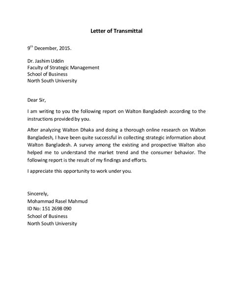 letter to my report on walton by rasel 1482
