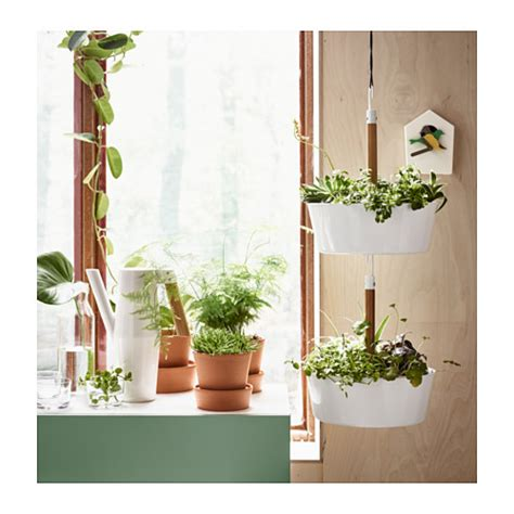 ikea wall planter bittergurka hanging planter white ikea