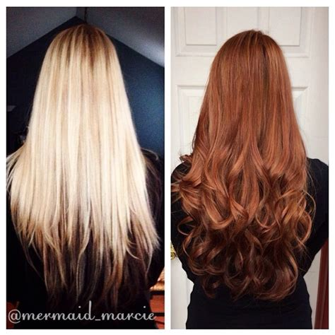 permanent hair color before and after goldwell colorance demi permanent hair