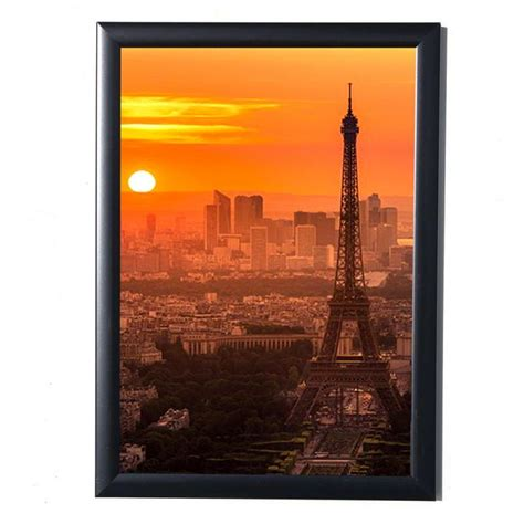 Poster Frame Kayu A4 29 21 29 7 cm black simulation wood table wall photo frame hardboard back with glass for a4 photos