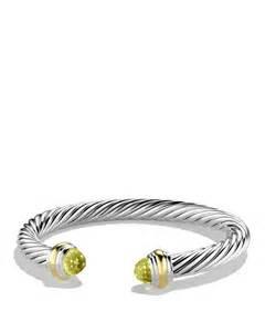 David Yurman David Yurman Cable Classics Bracelet With Lemon Citrine