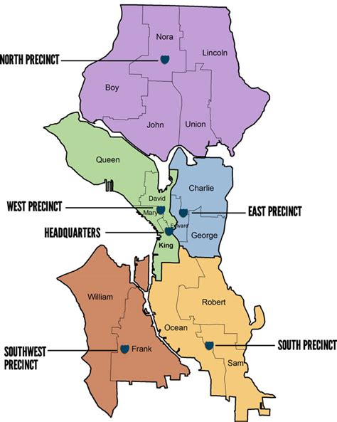 seattle map of crime south precinct map boundaries south seattle crime