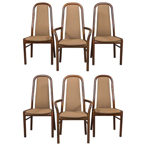 Six Dining Chairs Six Dining Chairs By Boltinge At 1stdibs