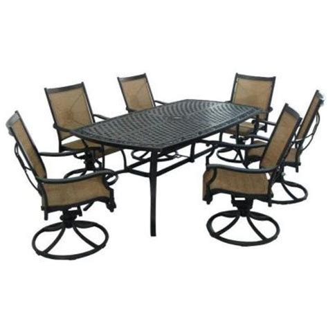 Martha Stewart Living Patio Tables Solana Bay 7 Piece Solana Bay 7 Patio Dining Set