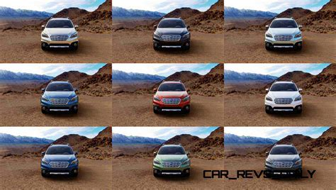 subaru colors 2015 subaru outback colors