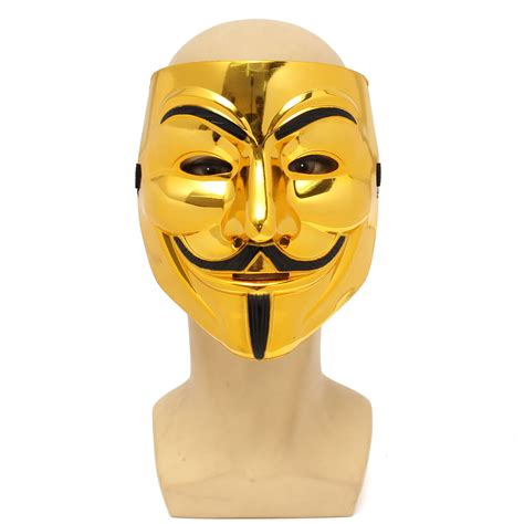 V In The Silver Mask v for vendetta fawkes mask
