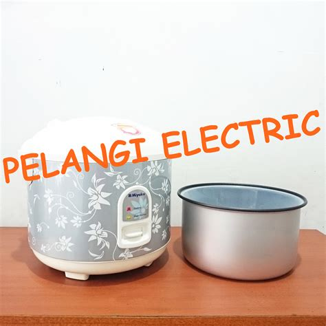 Rice Cooker Miyako 1 8 Liter jual rice cooker magic 1 8 liter miyako mcm 528 pelangi electric