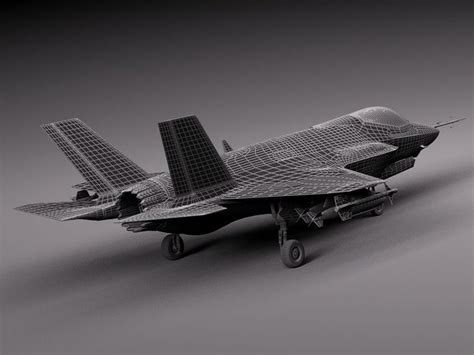 lockheed martin f 35 lightning ii model lockheed martin f 35 lightning ii 3d model max obj 3ds fbx