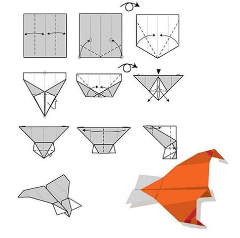 Folding A Paper Airplane - buy hm830 easy rc folding a4 paper airplane rcnhobby