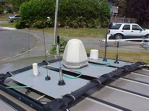 Luggage Rack Antenna Mount by The Techmobile Phases 1 4