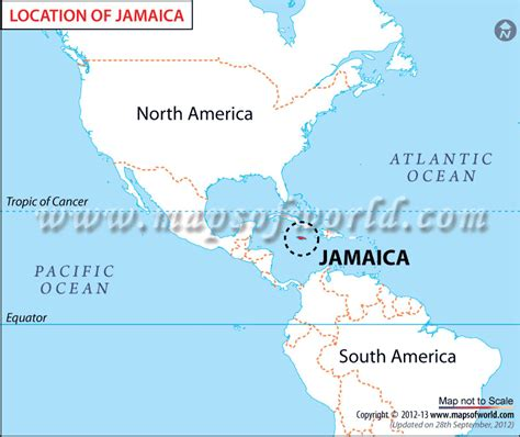 map world jamaica where is jamaica location of jamaica