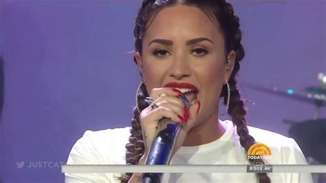 demi lovato sorry not sorry today show demi lovato sorry not sorry interview live on the