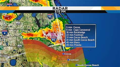 strong storms bring lightning  wind  central florida