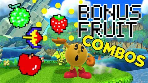 wii u fruit pac bonus fruit combos set ups smash bros 4