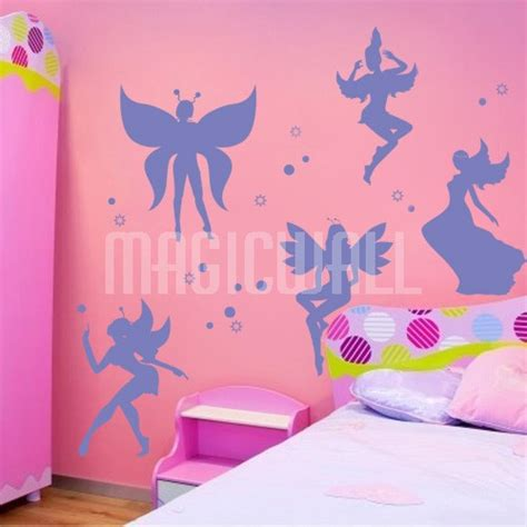 fairies wall stickers wall decals beautiful fairies wall stickers