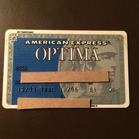 Sell American Express Gift Card - american express optima 1996 vintage collectors credit card ebay