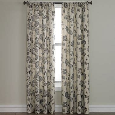 linden curtains linden street madeline rod pocket curtain panel