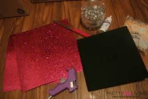 How To Decorate Graduation Cap | 212 216 241 pretty pink living 212 216 241 diy graduation cap decorating