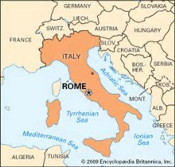 Rome Italy Map by Rome Kids Encyclopedia Children S Homework Help