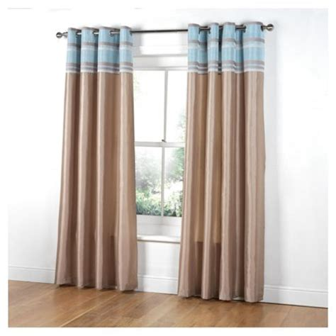 curtains at tesco direct buy tesco chenille stripe lined eyelet curtains