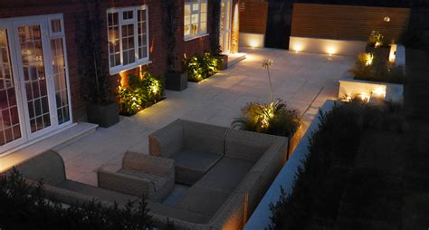 Project Updates Garden Design News Slate Grey Designer Garden Lights