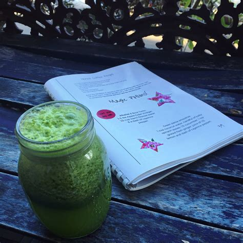 Just Salad Detox Smoothie by My 14 Days Following Your Holistic Metabolism Win A Copy