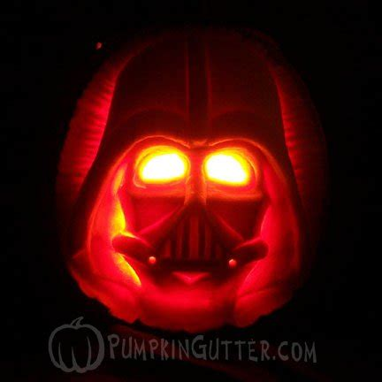 Darth Vader Pumpkin Template by Top 10 Wars Pumpkin Carvings O Lanterns