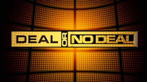 Deal Or No Deal Theme Song Youtube Deal Or No Deal