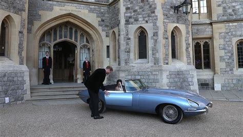 Wedding House And Concept by Tata Motors Classic Jaguar Takes Centre Stage At Harry