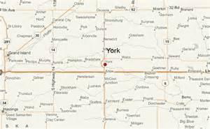 us map york nebraska gu 237 a urbano de york nebraska